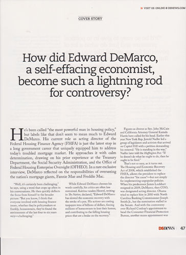 Clip of Edward DeMarco article, page 2